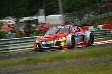 24 h N�rburgring - Busch-Audi schwer verunfallt: Warm-Up: Bestzeit f�r Audi