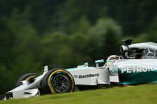Formel 1 - Williams' letzte Chance?: Longrun-Analyse: Graining bei Mercedes