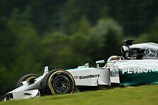 Formel 1 - Williams' letzte Chance?: Longrun-Analyse: Graining bei Mercedes