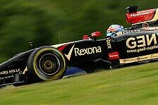 Formel 1 - Pl�tzlich war der Abtrieb weg: Grosjean: Longrun fast so schnell wie bei Red Bull