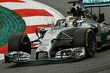 Formel 1 - Alonso erster Silberpfeil-J�ger: 2. Training: Hamilton schl�gt Rosberg