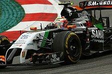 Formel 1 - Gutes Ergebnis trotzdem m�glich: Sergio Perez: Silverstone wird schwieriger
