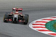 Formel 1 - Eingeschr�nkter Betrieb im zweiten Training: Maldonados Power Unit streikt erneut