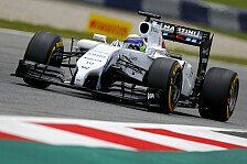 Formel 1 - Mercedes patzt im Qualifying: Qualifying: Massa! Doppel-Pole f�r Williams