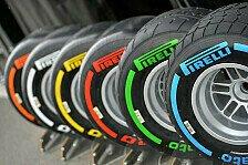 Formel 1 - Pirelli will mindestens 19-Z�ller: Reifengr��e: Wenn gro�, dann richtig gro�
