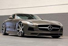 Auto - Mythos trifft Design: Das veredelte SLS AMG-Coup�: edel und maskulin