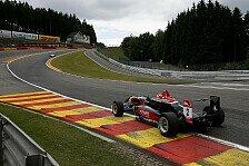 Formel 3 EM - Regen-Party in Belgien: Spa: Ocon und US-Boy Menezes auf Poles