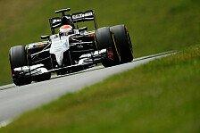 Formel 1 - Sauber braucht einen gro�en Schritt: Sutil schon wieder in Q1 drau�en