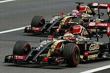 Formel 1 - Lotus f�hrt hinterher: Premiere: Maldonado schl�gt Grosjean