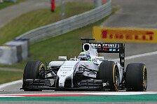 Formel 1 - Wir werden mitk�mpfen: Williams: Erster Mercedes-Verfolger werden