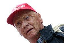 Formel 1 - Ich habe einen Fehler gemacht: Nach Ferrari-Kritik: Lauda entschuldigt sich