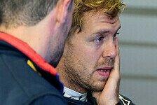 Formel 1 - Viel mehr war nicht drin: Vettel genervt: Fr�hes Aus im Qualifying