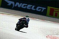 Superbike - Nachtschicht steht bevor: Viele Probleme bei Suzuki