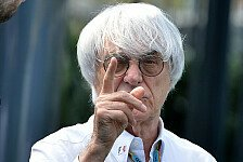 Formel 1 - Es ist m�glich: Ecclestone denkt �ber R�ckkauf der F1 nach