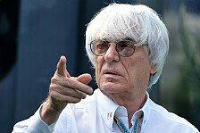 Formel 1 - Professionelles Schamgef�hl: CVC st�rkt Ecclestone den R�cken