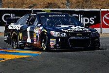 NASCAR - Patrick in Sonoma auf Startplatz elf: McMurray holt Road-Course-Pole