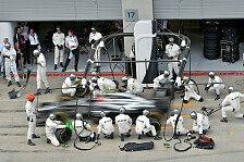 Formel 1 - Aufholbedarf bei Mercedes: Boxenstoppstatistik: McLaren allen voraus