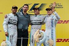 Formel 1 - Bilder: �sterreich GP - Podium
