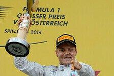 Formel 1 - Das Rennen haben wir gebraucht: Bottas fehlen nach erstem Podium die Worte