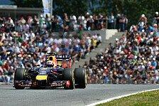 Formel 1 - H�lkenberg als Highlight: Ricciardo: Red Bulls Hoffnungstr�ger versagt