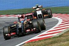Formel 1 - Ich liebe den Geschmack von Champagner am Sonntag: Grosjean lieb�ugelt mit Lotus-Abschied