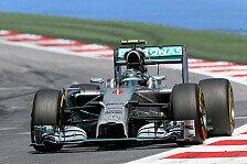Formel 1 - Irgendwann ist man Einzelk�mpfer : Silverstone kein Schl�sselrennen f�r Rosberg