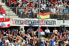 Formel 1 - Gute Neuigkeiten: Reaktionen auf Schumachers Heimkehr