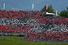 Formel 1 - Volles Haus und gute Stimmung: R�ckkehr der F1 nach �sterreich ein voller Erfolg