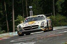 24 h N�rburgring - Zweiter Bolide f�llt in Top-10 aus: Rowe Racing auf dem Podium