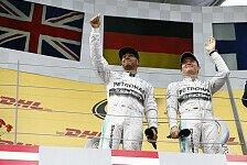 Formel 1 - Sache erledigt: Friedensgipfel Rosberg & Hamilton