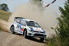 WRC - Wo ist Latvala?: Ogier schnappt sich die Spitze