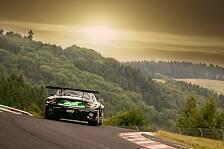 24 h N�rburgring - Zweimal auf dem Podium: Die SLS-Bilanz