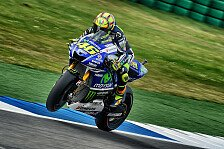 MotoGP - Rennen wird sehr hart: Desaster f�r Rossi