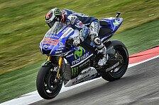 MotoGP - Rossi f�hlt sich nicht so schlecht: Lorenzo: M�ssen noch mehr machen