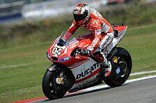 MotoGP - Dovizioso mit Bestzeit in Sektor eins: Ducati-Piloten: Stark auf Bremse, schwach in Kurve