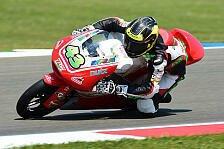 Moto3 - Keine deutschen Glanzlichter im Training: Wildcard Hanus: Niveau ist echt brutal