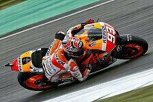 MotoGP - Yamaha-Trio jagt den Weltmeister: Marquez f�hrt letztes Training an