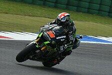 MotoGP - Espargaro zahlt Lehrgeld im Nassen: Tech 3: Smith mit Schadensbegrenzung
