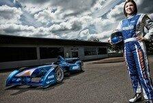 Formel E - Amlin statt Super: Legge: Erste Dame im Feld best�tigt