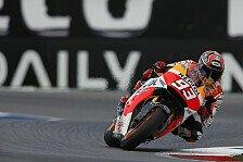 MotoGP - Gef�hrlich und schwierig: Marquez musste sich selbst bremsen