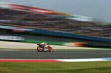 MotoGP - Abflug in Kurve eins: Sturz und Bestzeit f�r Marquez im Warm Up