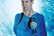 Formel 1 - Schonende Rasur mit K�hleffekt : Braun & Vettel setzen auf Technik und Design