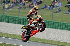 MotoGP - Potential nicht wirklich einsch�tzbar: Aleix Espargaro studiert die Suzuki