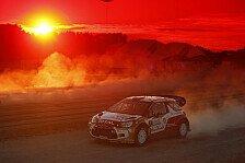 WRC - Das Podium klar im Visier: �stberg vor Finnland: Selbstbewusstsein? Check!