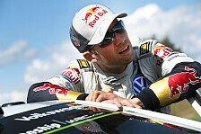 WRC - Das geht manchmal schon ziemlich auf den Magen: Ogier: Ein Triumph in Finnland reicht nicht