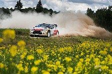 WRC - Video: �stberg mit Helmkamera im Cockpit