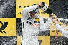 DTM - Vielen Dank an meine Jungs: Ihr seid super: Norisring: Die Mercedes-Fahrer nach dem Rennen