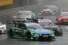 DTM - Kategorie: Schadensbegrenzung: BMW: Kuriose Action in der Boxengasse