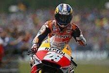 MotoGP - Bremsprobleme verhindern Angriff auf die Spitze: Pedrosa: Crash und deutlich Luft nach oben