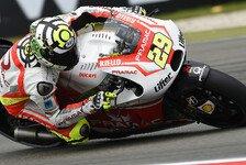 MotoGP - Hauchd�nn an Q2 vorbei: Pramac: Iannone stark, Hernandez im Pech